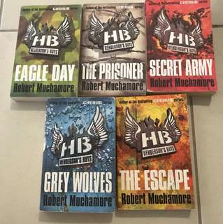 Henderson Boys - complete book series, pre-series to Cherubs
