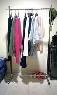 Rak Hanger Baju - Exclude Gantungan