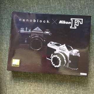 Nano block X Nikon F 相機