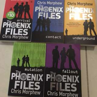 The Phoenix Files Books