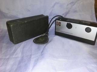 "Vintage camera ""kodak"" with case"