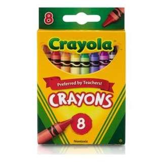 CRAYOLA 8 pieces (2 packs)