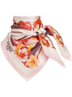 歐洲預訂 Fendi floral square scarf