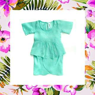 Kurung Linen For Baby Girl