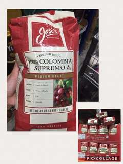 Jose's Whole Bean Coffee 3lbs
