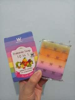 Fruitamin 10 in 1 Whitening Soap Original