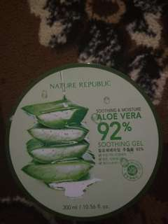 Nature republic aloe vera gel 92% natrep