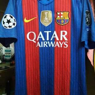 Nike FC Barcelona Home 16-17 Season adidas