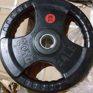 Olympic Rubber Plates