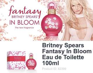 Brand new Britney Spears Fantasy In Bloom Eau de Toilette 100ml