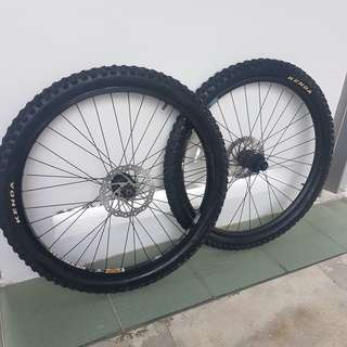 "26"" Wheelset (Factory outlet)"