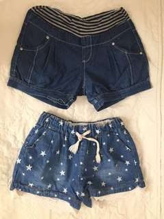 Stretchable Shorts (P70 each)