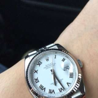 Rolex oyster date just perpetual series 16234