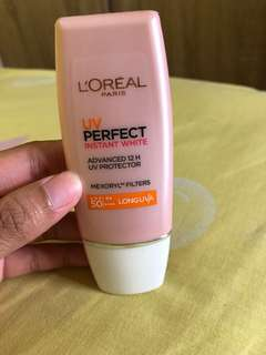 L'oreal UV Perfect Instant White