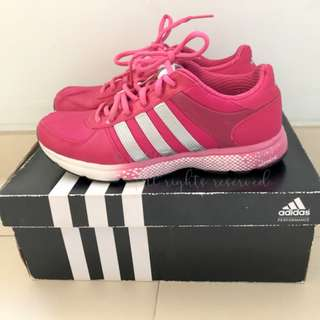 ADIDAS Atlanta Womens 11 Running Sport Shoes Pink US7 桃紅色運動鞋