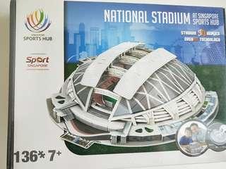 National stadium replica
