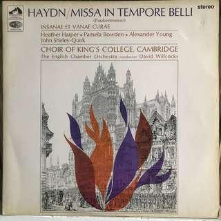Haydn Paukenmesse Willcocks EMI ASD 2303