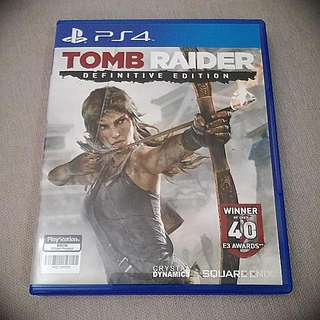PS4 Tomb Raider Definitive Edition