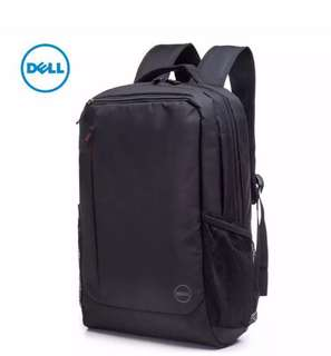 Original Dell Essentials Red Accents Backpack