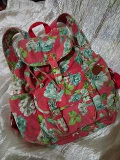 Aeropostale floral bagpack
