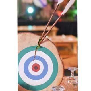 21 pcs. target wood decor table centerpiece