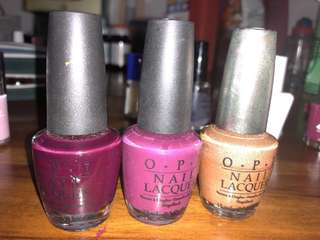 OPI Nail Polish - buy 2 get 1 (other brand) free
