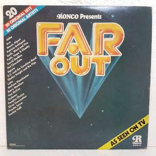 On Hold: Far Out - 20 Original Hits by Original Artists vinyl record