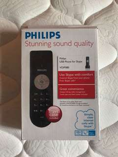 Phillips USB phone for skype
