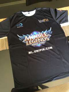 Brand New Mobile Legends x Unipin Jersey Shirt