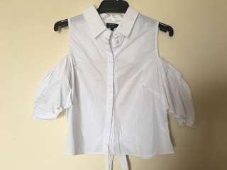 Puff sleeve shirt - S