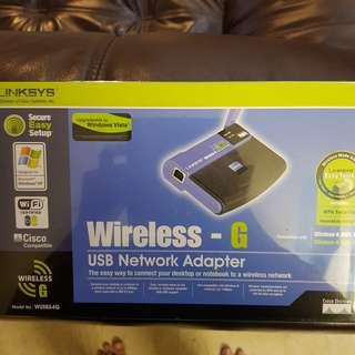 Linksys Wireless USB Network Adapter