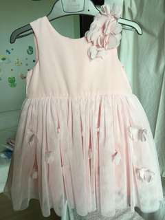 PARTY DRESS - 6-9mths -LIKE NEW!!
