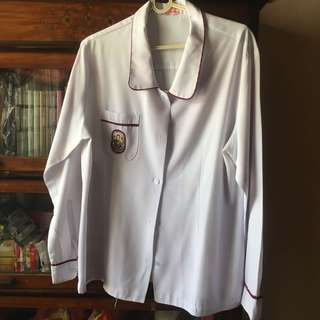 University of Perpetual Help Las Pinas Senior high school uniform