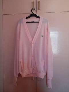 Lacoste Pink Cardigan