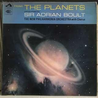 Holst The Planets Adrian Boult EMI ASD 2301