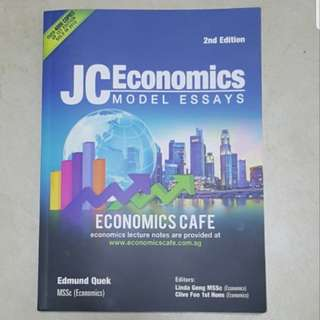 (Final Sale) JC Economics Model Essays
