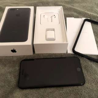 自售apple iPhone 7plus 霧面黑 256G 5.5寸