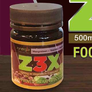 Zynergia Z3X Vegetable Capsules