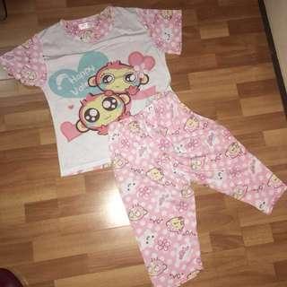 Pink sleepwear