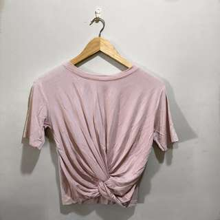 Baby Pink with Knot Top