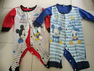 To bless Donald Duck romper