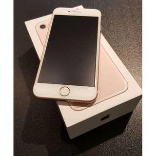 ❤️優質嚴選二手❤️《iPhone 7 128G 玫瑰金 》