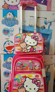 FREE shipping Trolley Bag for kids