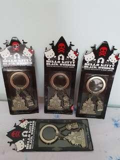 Hello Kitty Black Wonder Key Chains