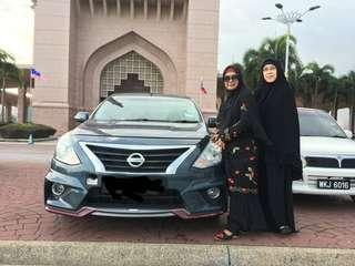Kereta sewa murah ramadan only Nissan Almera