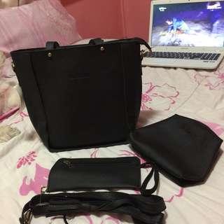 •brandnew• 3 in 1 Black Bag