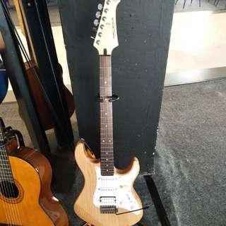 Gitar yamaha electronic rgx 121 bisa dicicil cepat