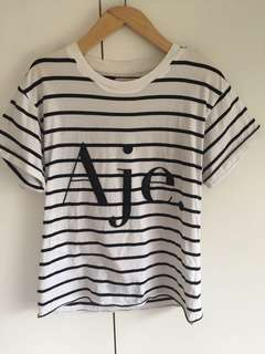 Aje stripe shirt XS