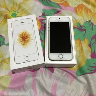 iPhone SE Gold 64gb Globelocked
