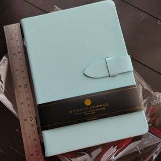 Victoria's Journals light blue tote journal (Free shipping)